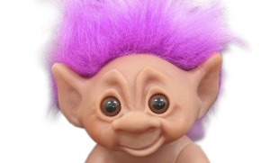 If only internet trolls were this cute