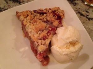 They got me pie!