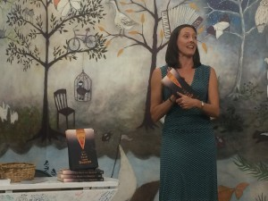 I got to do my reading in a forest!